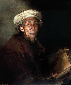 Rembrandt in Bali III by Dray Van Beeck