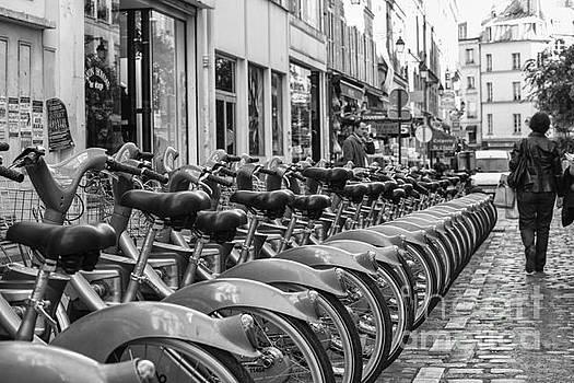 Patricia Hofmeester - Rental bikes in Paris