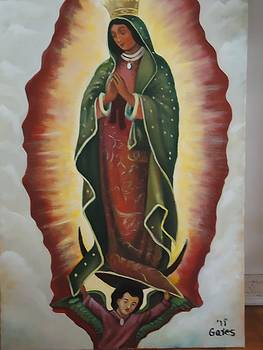 Reproduction Virgin Mary by Todd  Gates