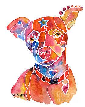 Rescue Dog - Mooch by Jo Lynch