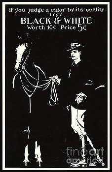 Retro Tobacco Ad 1890 by Padre Art
