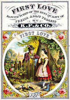Retro Tobacco Label 1869 d by Padre Art