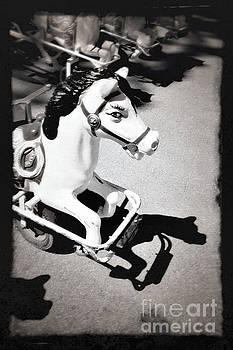 BERNARD JAUBERT - Retro wooden horse