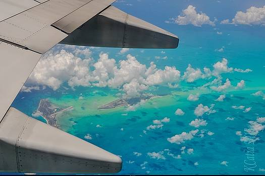 Reve Aqua bleu by Katia Creole Art