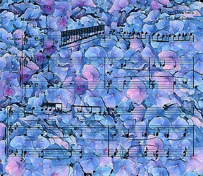 Rhapsody in Blue I by Jazz Art