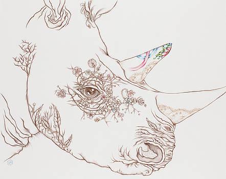 Rhino by Karen Robey