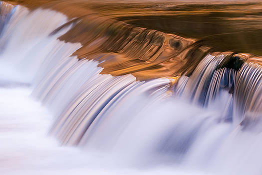 Ribbons of Blue and Gold by Jeff Abrahamson