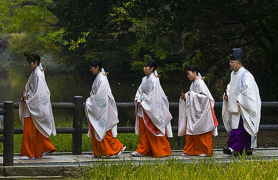 Rice harvest ceremony by Kobby Dagan