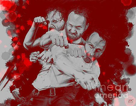 Rick Grimes by David Kraig