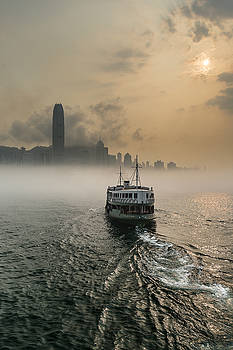 Ride into the Fog by Bun Lee