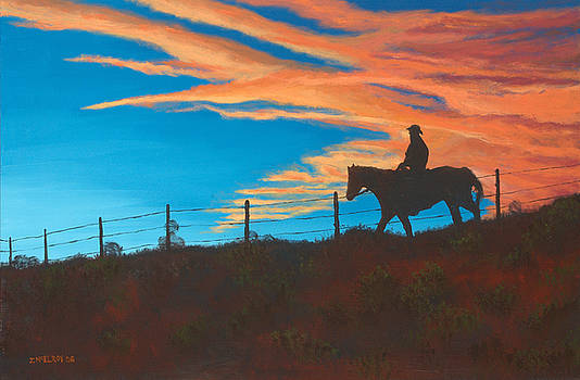 Jerry McElroy - Riding Fence