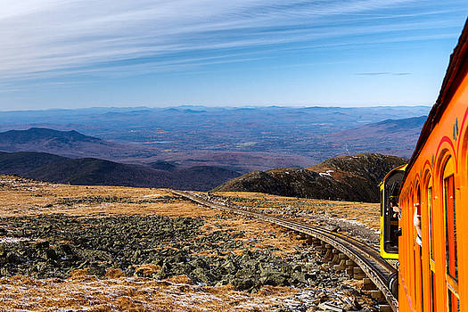 Riding the Cog up Mt Washington by Shelle Ettelson