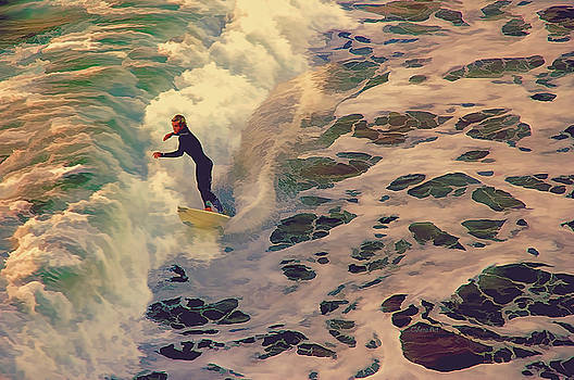 Riding the Sea by Art OLena