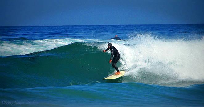 Joyce Dickens - Riding The Waves At Asilomar State Beach Three