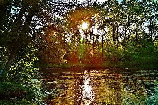 Rifle River Sunrise by Daniel Thompson