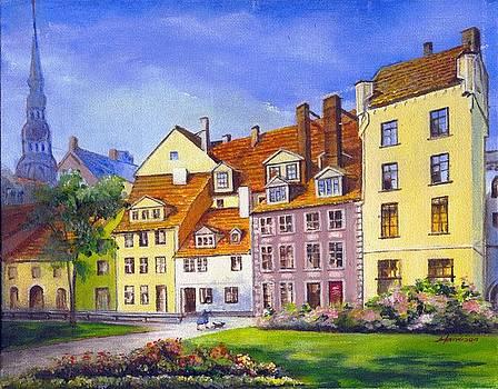 Riga Latvia by Robynne Hardison