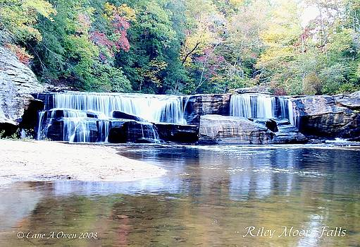 Riley Moore Falls oconee county SC by Lane Owen