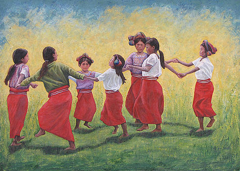 Ring around the rosies by Judith Zur