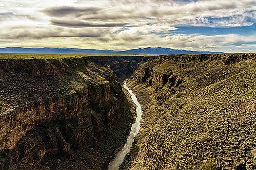 Rio Grande Gorge  by Robert FERD Frank