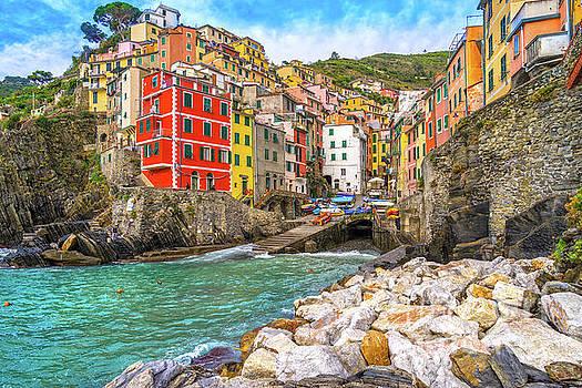 Riomaggiore - Cinque Terre National Park - Liguria - Italy by Luciano Mortula