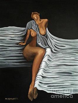 Ripple Shawl by Fei A