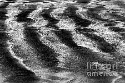 Ripples in the sand by Gary Bridger