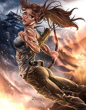 Rise of the Tomb Raider by Pete Tapang
