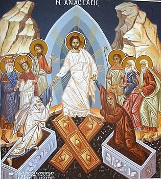 George Siaba - Rising - Jesus in Hades