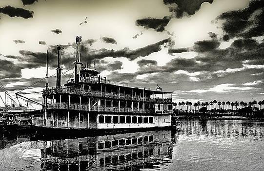 River Boat in Long Beach by Joseph Hollingsworth