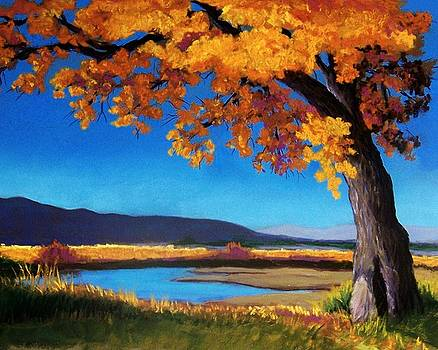 River Cottonwood by Candy Mayer