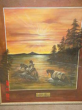 River Crossing by John Gibson