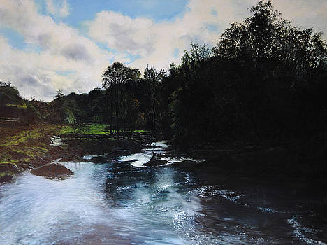 Harry Robertson - River near Rhewl