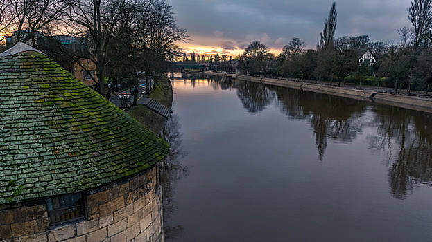 River Ouse Sunset by Gemma Greaves