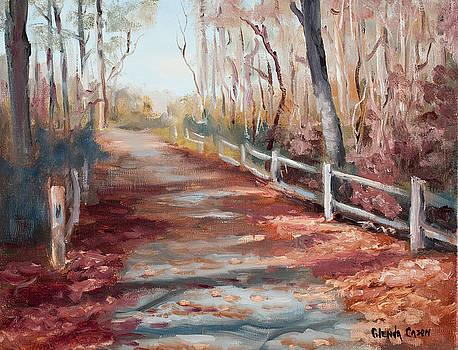 River Path by Glenda Cason