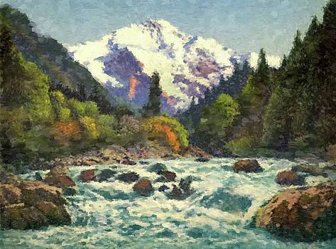 River Rapids by Gary Grayson