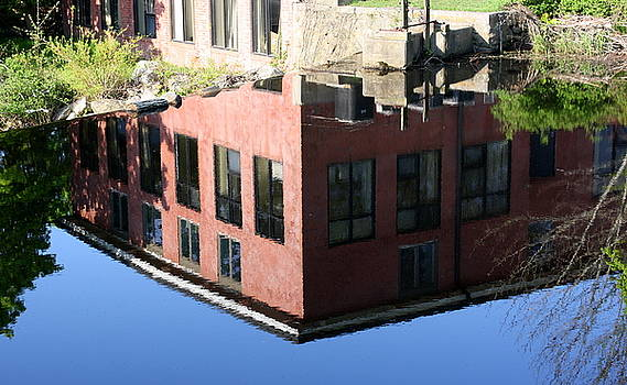 Anne Babineau - river reflection
