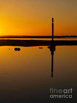 River Reflection by Trena Mara