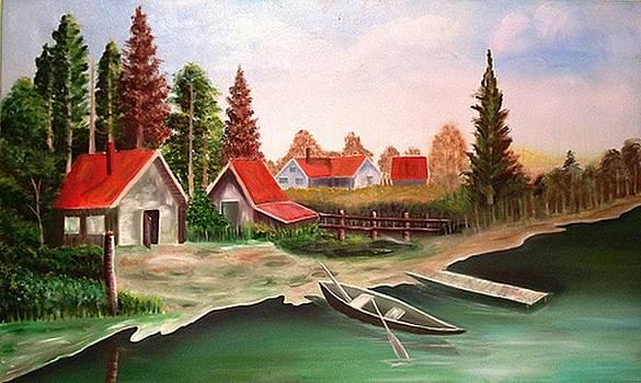 Xafira Mendonsa - River Side