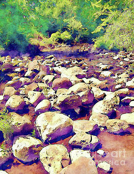 River Stones by Phil Perkins