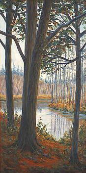 River Trees by Elaine Farmer
