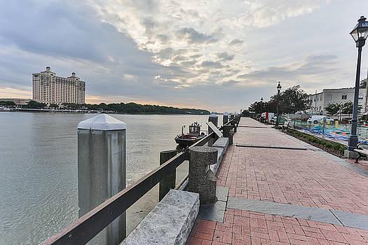 River Walk Path by Jimmy McDonald