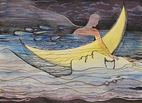 Rivers of Love by Valentina Plishchina