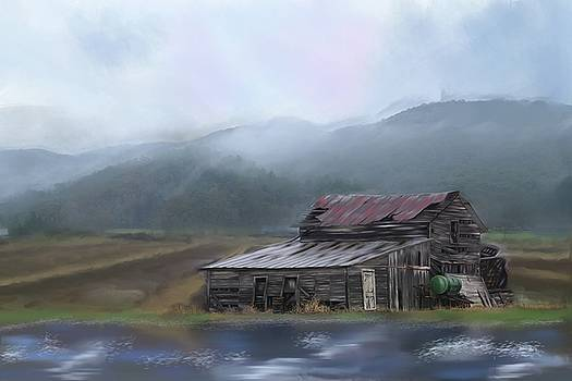 Riverside Barn by Mary Timman
