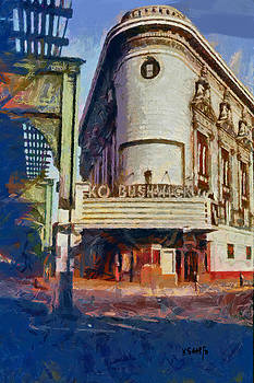 RKO Bushwick Theater 1974 by Kai Saarto