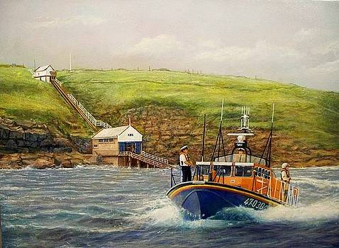 RNLI Lifeboat To The Rescue by William H RaVell III
