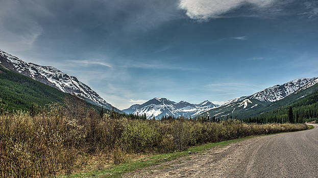 Road To Castle by Wayne Stadler