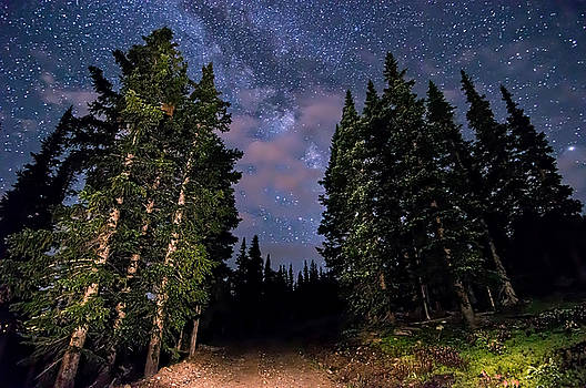 Road to Milky Way by Michael J Bauer