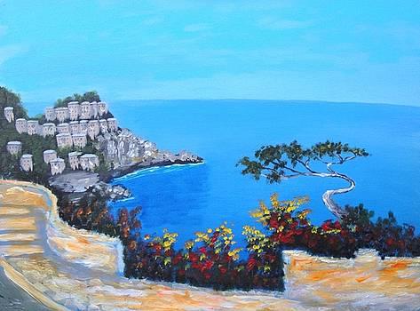 Road To Monaco by Larry Cirigliano