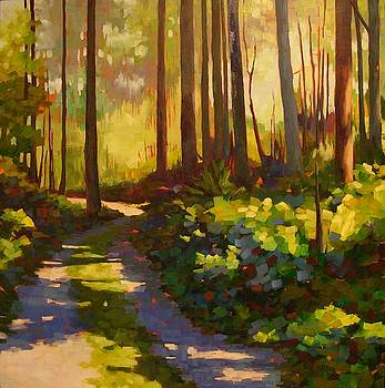 Road to the Cabin by Mary McInnis