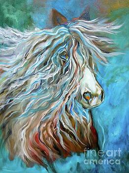 Roan Stallion 11 by Jenny Lee